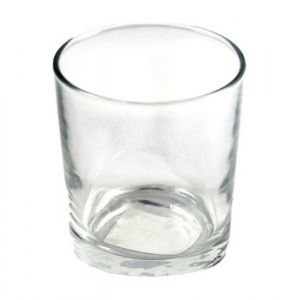 Clear Glass Votive Cup