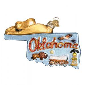 Oklahoma Ornament