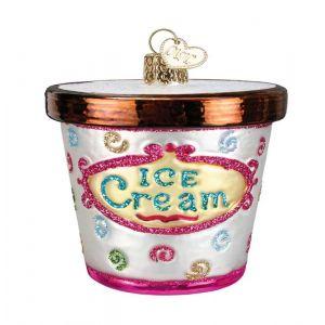 Ice Cream Carton Ornament