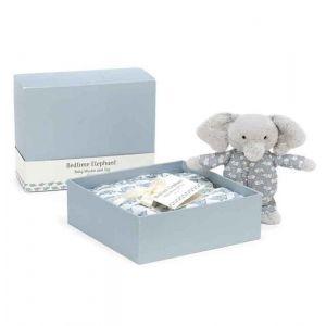 Jellycat Bedtime Elephant Muslin and Toy Set