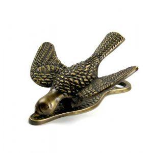 Brass Bird Clip