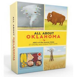 All About Oklahoma Flash Cards