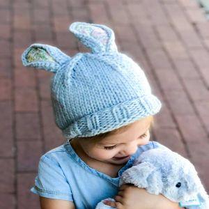 Bailey Bunny Knit Hat