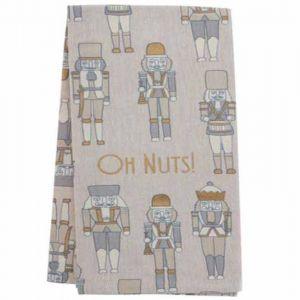 Oh, Nuts! Nutcracker Tea Towel