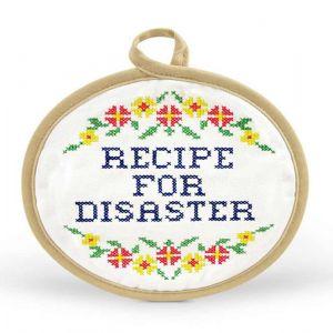 Recipe for Disaster Potholder