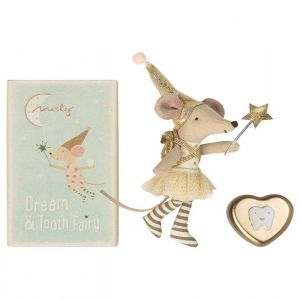 Big Sister Mouse Tooth Fairy with Tooth Box