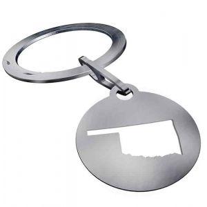 Keyround® Oklahoma Key Ring