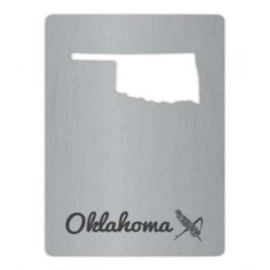 Oklahoma Wallet Bottle Opener