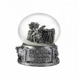 Oklahoma Snow Globe