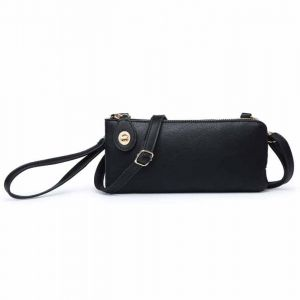 Assorted Colors Shoulder Clutch