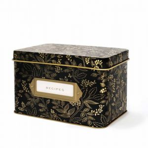 Queen Anne Recipe Box with Cards