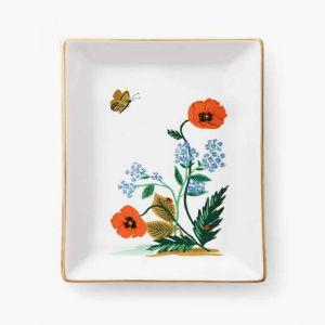 Floral Trinket Tray
