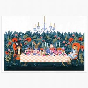 Mad Hatter's Tea Party Art Print