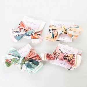 Camilla Watercolor Scarf with Accessory Pack
