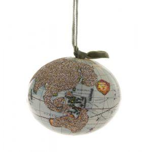 Cody Foster & Co. Glitter Globe Ornament