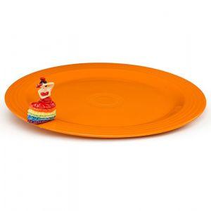Fiesta Platter and Fiesta Dancing Lady Set