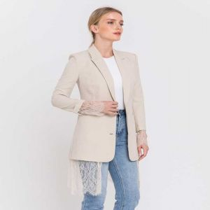Lace Lined Blazer