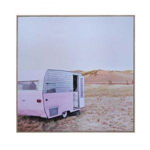 Pretty Pink Camper Living