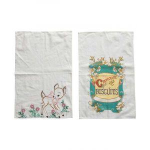 Vintage Cotton Tea Towels