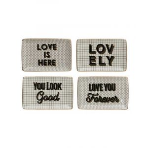 Trinket Tray with Encouraging Saying
