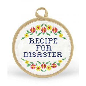 Recipe for Disaster Potholder