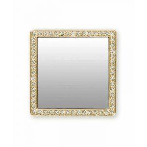 Square Gold Phone Mirror