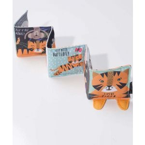 Tip Toe Tiger Fabric Book