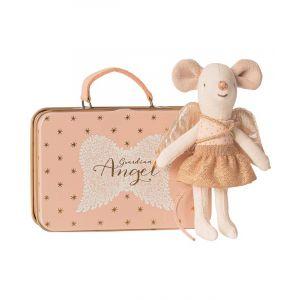 Little Sister Guardian Angel in Suitcase