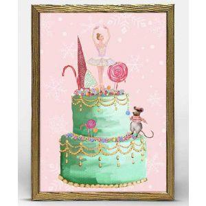 Sugarplum Fairy Framed Art