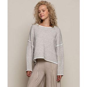 Heather Taupe Sweater
