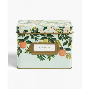Citrus Recipe Tin