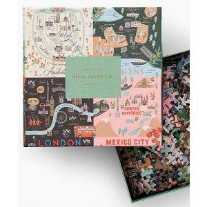 City Maps Jigsaw Puzzle