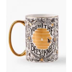 Bee's Knees Porcelain Mug
