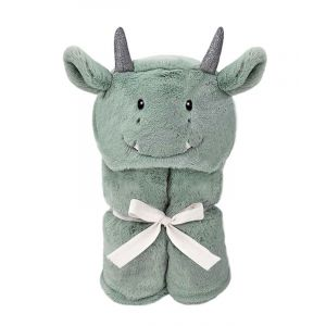 Dax Dragon Hooded Toddler Blanket