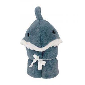 Seaborn Shark Hooded Toddler Blanket