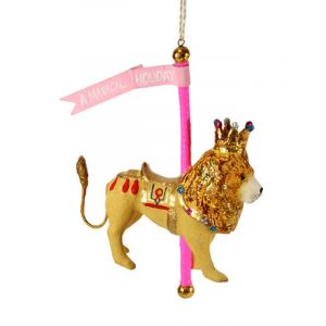 Cody Foster & Co. Carousel Lion Ornament