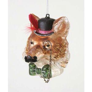 Cody Foster & Co. Gentleman Fox Ornament
