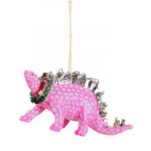 Cody Foster & Co. Polka Dot Dino Ornament
