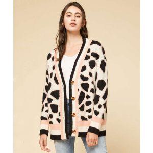 Leopard Spot Cardigan