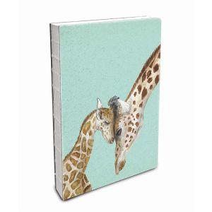 Giraffe Love Deconstructed Notebook