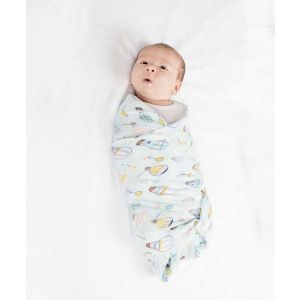 Up Up and Away Muslin Swaddle
