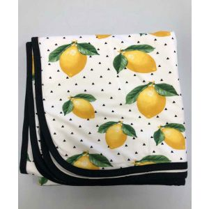 Lemon Double-Layer Bamboo Everywhere Blanket