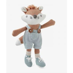 Felix Fox Baby Knit Toy