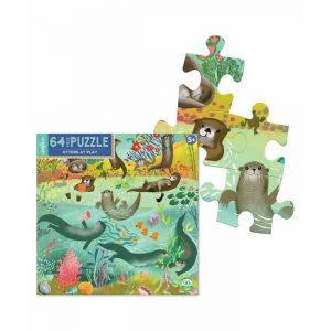 Otters at Play Puzzle